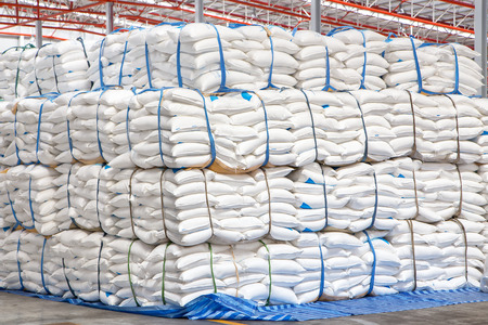 A warehouse is a commercial building for storage of goods. Warehouses are used by manufacturers, importers, exporters, wholesalers, transport businesses, customs, etc photo