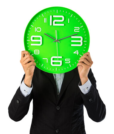 The clock set to ten oclock ten minutes because the both hands look like the clock or watch has a smile face. This is all makes sense when you think about the emotional marketing perspective. Stock Photo
