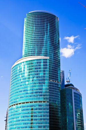 New international skyscrapers business center in Moscow city, Russia Stock Photo - 4691832