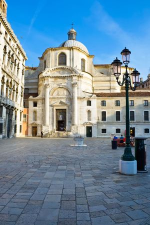Church of San Geremia in Venice, Italy photo