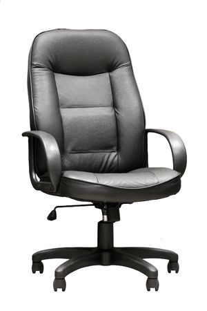 Comfortable leather manager's armchair  on the isolated background Stock Photo - 4792732