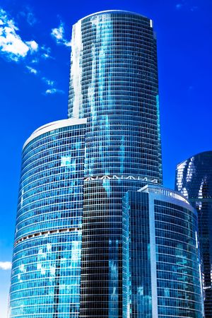 Wolkenkrabbers van het International Business Centre, Moskou