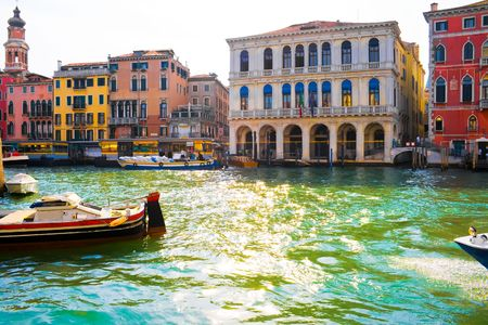 View of famous Grand Canal, Venice Stock Photo - 4808018