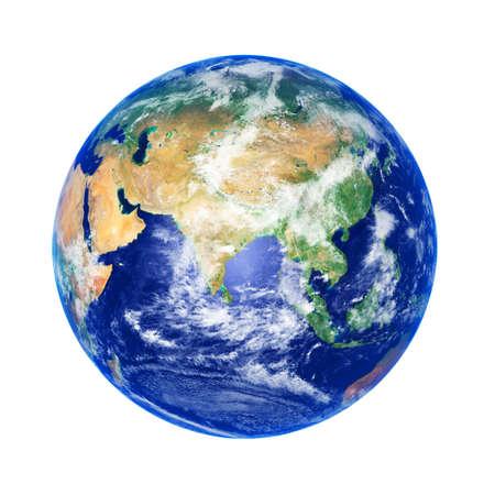 planisphere: Globo terrestre, l'Asia, l'immagine ad alta risoluzione