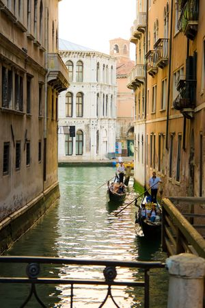 Typical canal in Venice, Italy Stock Photo - 4940115