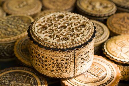 birchbark: Russian souvenirs made of birchbark