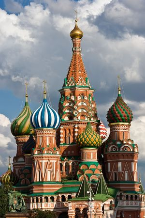 minin: St. Basil Cathedral and Pozharsky And Minin Monument, Moscow, Red Square