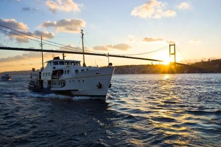 De Bosporus-brug tussen Europa en Azië, Istanbul