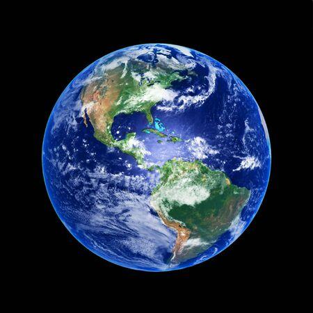 planisphere: Earth Globe, high resolution image