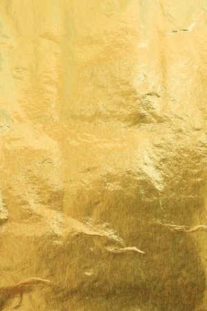 foil: Gold foil abstract texture