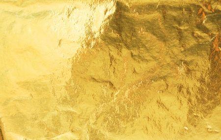 Gouden folie abstracte structuur achtergrond Stockfoto