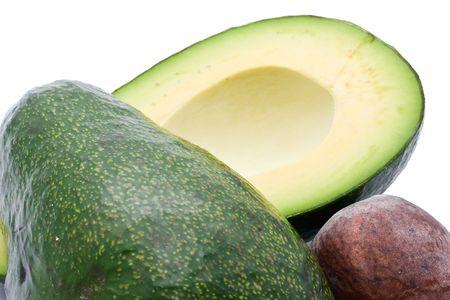 Avocado isolated on white background Stock Photo - 6899451
