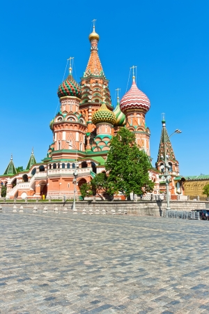 Saint Basil Cathedral at Red Square, Moscow Kremlin, Russia. photo