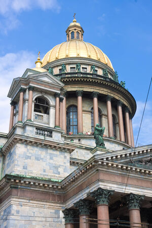 St Isaac Cathedral in Saint Petersburg, Russia photo