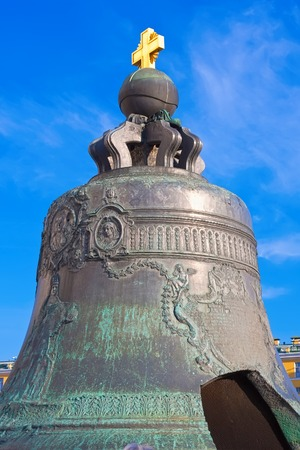 Huge Tsar Bell in  Moscow Kremlin, Russia photo