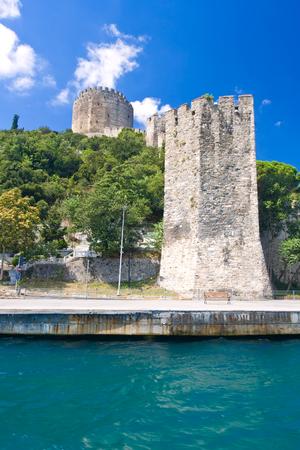 hisari: Famous Rumeli Hisari Fortress in Istanbul, Turkey
