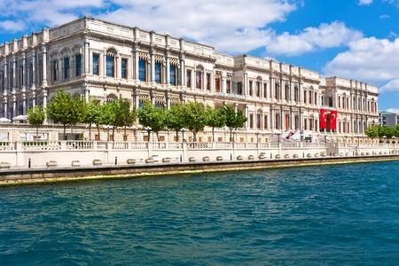 Luxury hotel  Ciragan Palace on Bosphorus, Istanbul Turkey