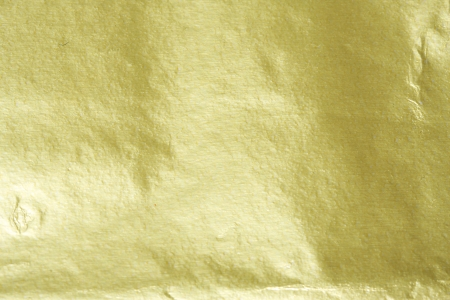 Shiny yellow gold foil abstract texture background Reklamní fotografie