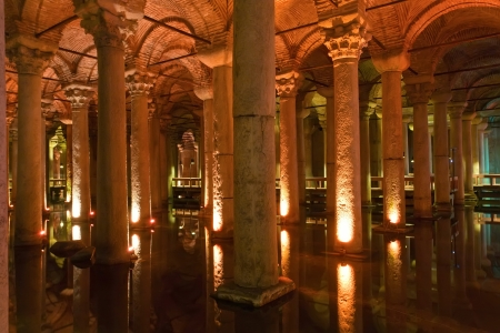 Yerebatan Sarnici Basilica Cistern, istanbul ,Turkey