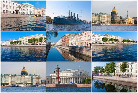 Beautiful photos of canals in Saint Petersburg, Russia