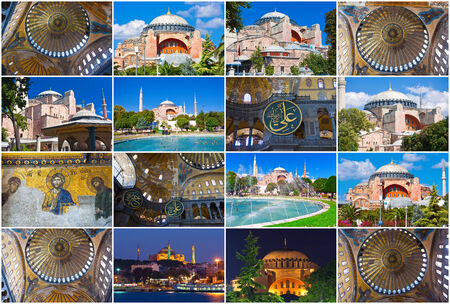 Beautiful photos of  Hagia Sophia in Istanbul, Turkey