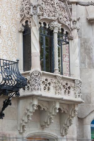 josep: Casa Amatller is famous Modernism masterpiece by architect Josep, Barcelona, Spain