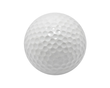 Nice Golf ball isolated on white background Stock fotó