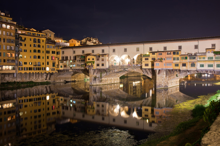 Old bridge -  Ponte Vecchio in Florence, Tuscany, Italy