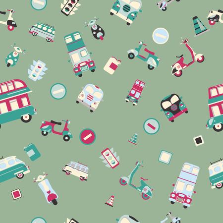 saemless: Cars saemless pattern