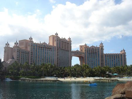 Atlantis on Paradise Island in Bahamas Stock Photo - 347820
