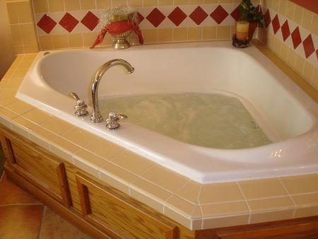Bath Tub Standard-Bild