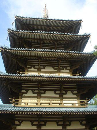 Asian Pagoda Stock Photo