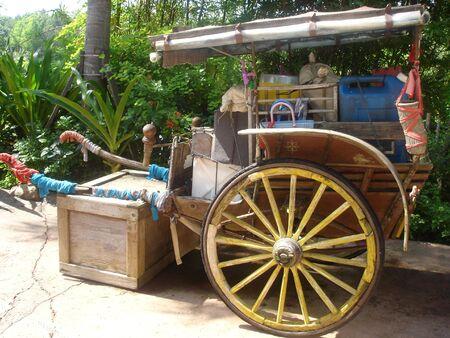 Asian Rickshaw Standard-Bild
