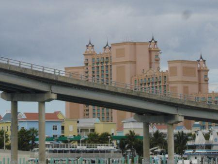 Atlantis on Paradise Island in Bahamas photo