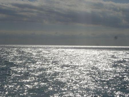 water's: Shining Waters Stock Photo