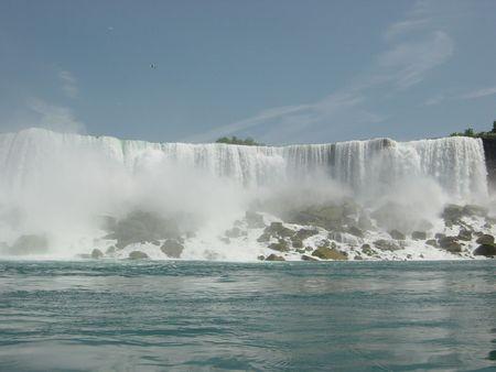 Niagara Falls Standard-Bild