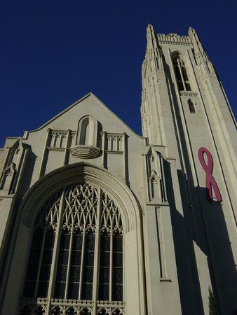 Kerk in Hollywood Stockfoto