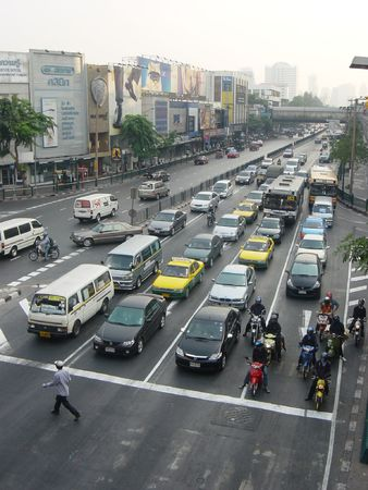 Traffic in Thailand Stock Photo - 361597