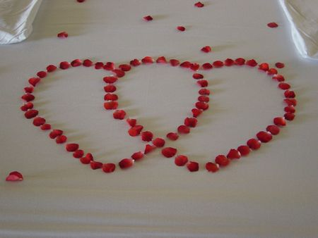 Honeymoon Bed Stock Photo - 361600