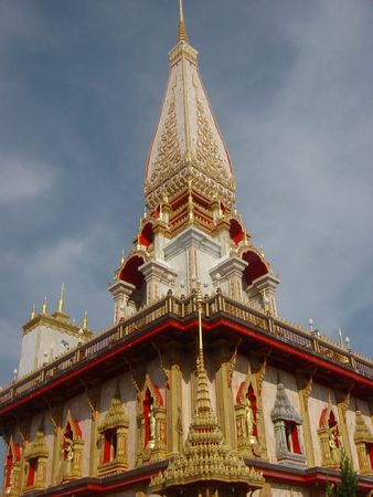 Wat Chalong in Thailand photo