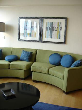 Living Room Reklamní fotografie