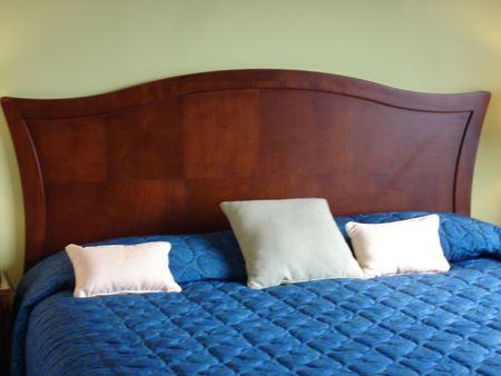 Luxurious Bed Stock Photo - 464861