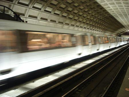 Metro treinstation in Washington DC