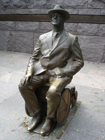 Roosevelt Memorial in Washington DC