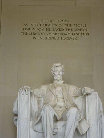 Lincoln Memorial in Washington DC