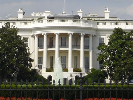 White House in Washington DC