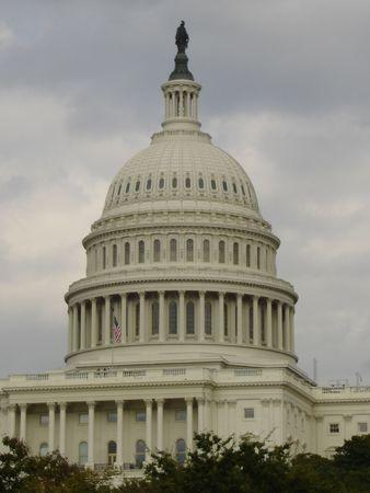 US Capitol in Washington DC Standard-Bild
