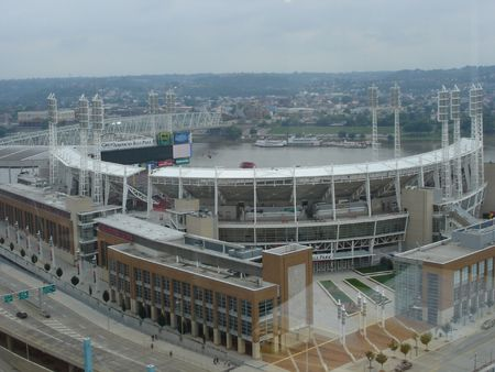 Baseball Stadium in Cincinnati, Ohio
