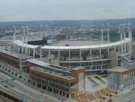 Honkbal Stadion in Cincinnati, Ohio