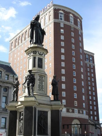 Downtown Providence in Rhode Island